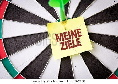 My Goals (in German)
