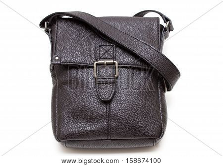 man purse isolated on a white background
