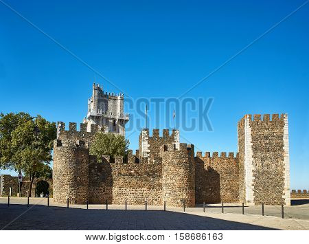 Castelo De Beja Castle. Alentejo, Portugal.