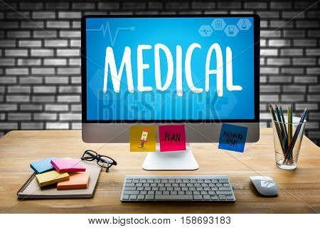 Medical Health medical service Medical Health Wellbeing Care medical doctor Confident doctor Medical Health Professional doctors Medical Health Medicine doctor working Medical Health poster