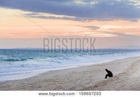 Beach in Algarve, Portugal, Europe