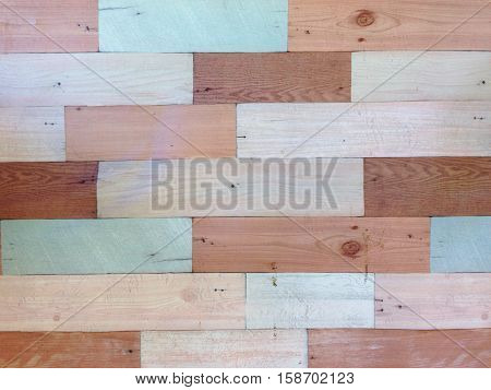 Old vintage wood background texture, pastel wood wall texture, colorful old grunge wooden background with horizontal stripes