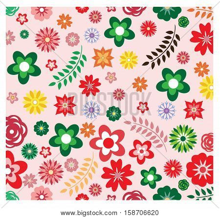 flower pattern, versatile background design that can be used to design any