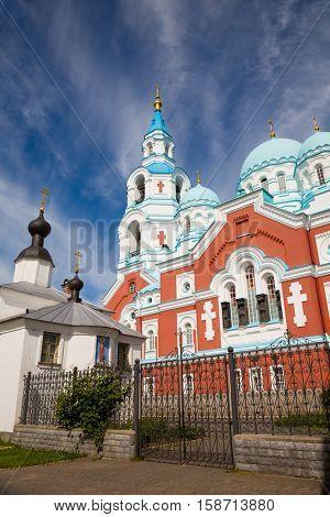 Valaam Savior Transfiguration (Spaso-Preobrazhensky) monastery. Karelia, North of Russia.