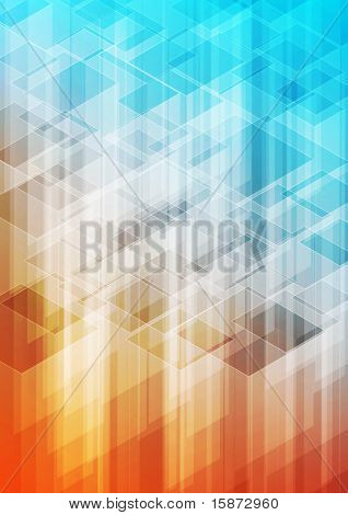 Abstract pixel illustration for your background etc. poster