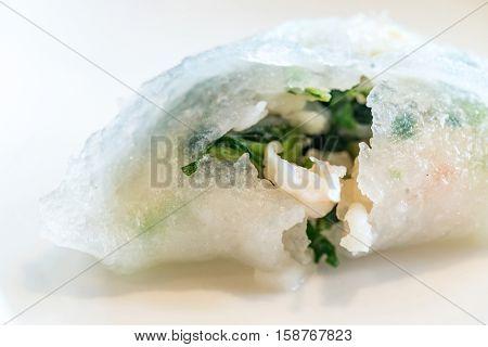 Chinese dim sum Hagao - Steamed Chinese groumet cuisine