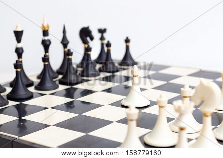the game of chess the first move