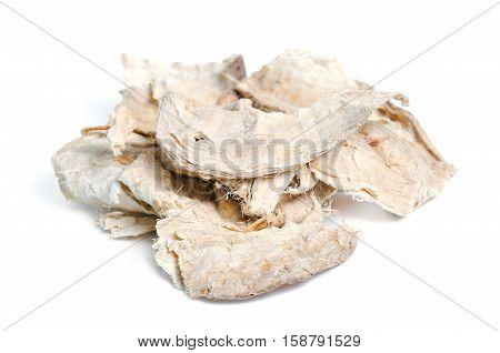 Pueraria Mirifica, White Kwao Krua, Pueraria Candollei Graham Ex Benth. Var Mirifica Isolated On Whi