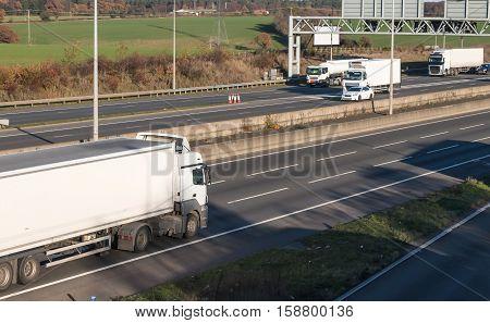 Road transport - Lorries on the motorway
