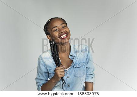 African Descent Teen Photo Shoot Concept