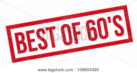 Best Of 60's Rubber Stamp