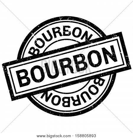 Bourbon Rubber Stamp