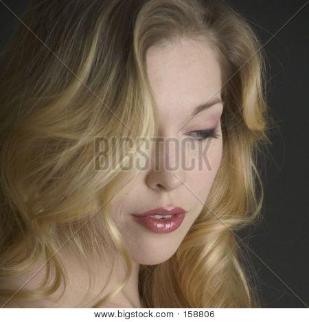 Lovely Blond Bride