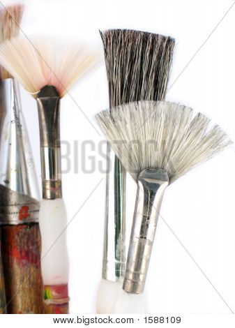 Old Art Brushes
