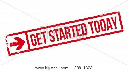 Get Started Today Stamp
