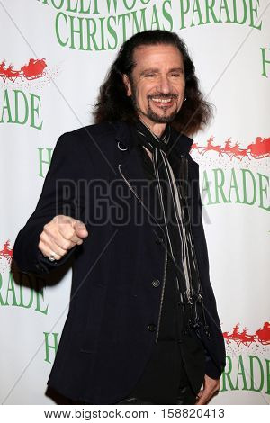 LOS ANGELES - NOV 27:  Bruce Kulick at the 85th Annual Hollywood Christmas Parade at Hollywood Boulevard on November 27, 2016 in Los Angeles, CA