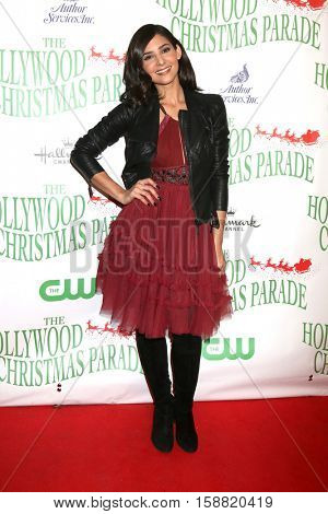 LOS ANGELES - NOV 27:  Camila Banus at the 85th Annual Hollywood Christmas Parade at Hollywood Boulevard on November 27, 2016 in Los Angeles, CA