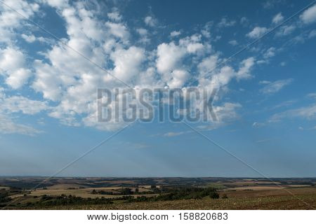 Rural scene sky clouds nature non-urban rural agriculture