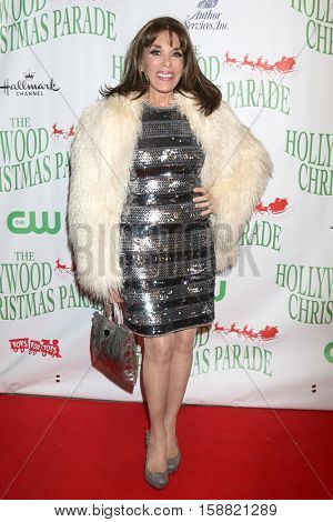 LOS ANGELES - NOV 27:  Kate Linder at the 85th Annual Hollywood Christmas Parade at Hollywood Boulevard on November 27, 2016 in Los Angeles, CA