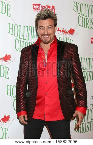 LOS ANGELES - NOV 27:  Tommy Wind at the 85th Annual Hollywood Christmas Parade at Hollywood Boulevard on November 27, 2016 in Los Angeles, CA
