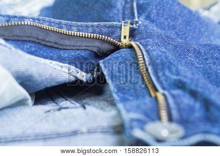 blue denim jeans, open zip front background