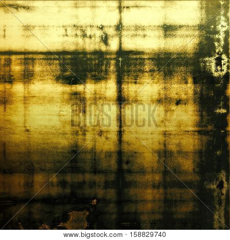 Hi res grunge texture or retro background. With different color patterns: yellow (beige); brown; gray; green; black