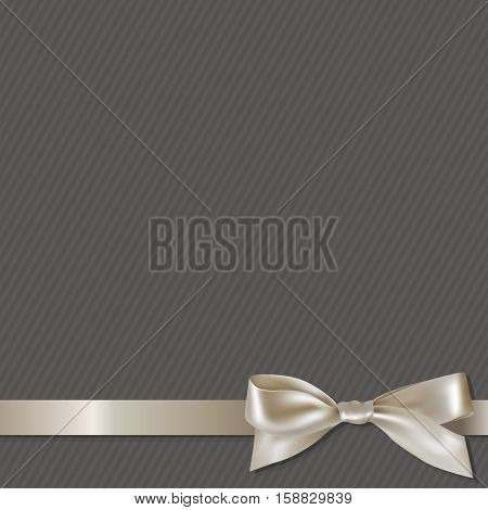 Paslel Ribbon, With Gradient Mesh, Vector Illustration