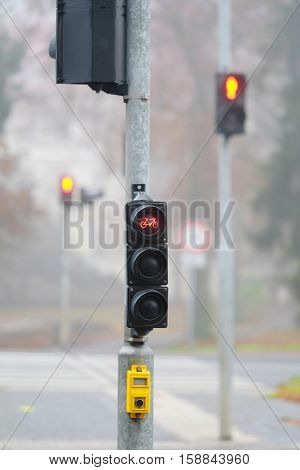 The image of traffic lights