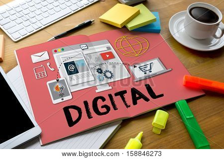 Digital Business Team Digital Device Technology , Digital Business Transformation , Hi-tech Technolo