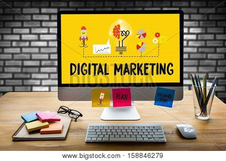 Digital Marketing  New Startup Project , Digital Marketing Interactive Digital Marketing Channels ,