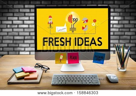 Fresh Ideas   Ideas Design Innovation Think Objective Strategy , New Fresh Ideas , Innovative Ideas