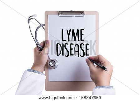 Lyme Disease Lyme Disease Or Lyme Borreliosis , Lyme Disease, Medical Concept , Patients Lyme Diseas