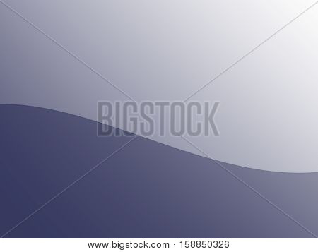 Simple fractal in grey with a wavy curve in the middle dividing the fractal to a light and dark part. Text space. For industrial or technical layouts, templates, projects, designs, presentations etc.