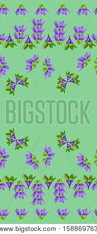 Beautiful floral seamless pattern. Elegant background with flowers.