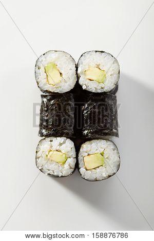 Japanese Cuisine - Cucumber Sushi Roll