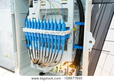 fiber optic in technology data center