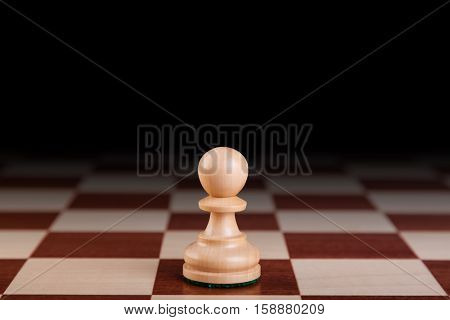 wooden chess pieces
