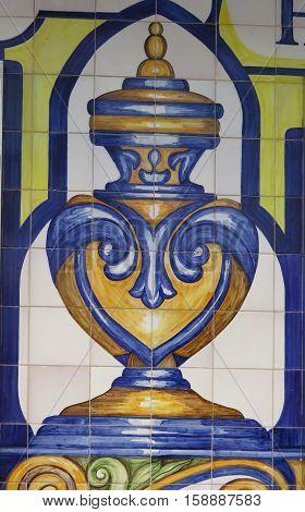 Mosaic On Farmacy Wall