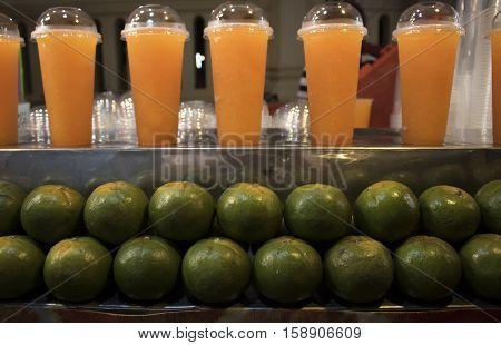 Orange juice,cool drinking water form fresh orange for  Healhty