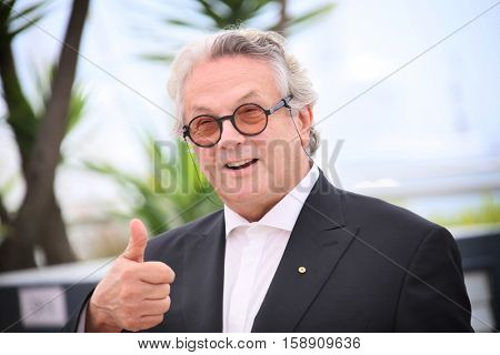 George Miller attends the jury photocall during the 69th annual Cannes Film Festival at Palais des Festivals on May 11, 2016 in Cannes, France.