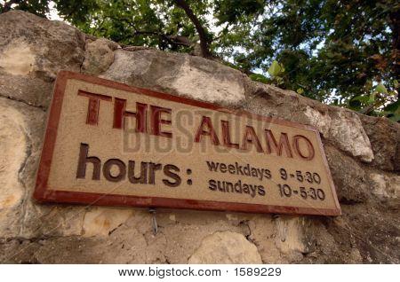 The famous Alamo in San Antonio Texas