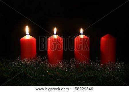 Internationally Holidays / 3. Advent / Advent is a season observed in many Western Christian churches as a time of expectant waiting and preparation for the celebration of the Nativity of Jesus at Christmas.