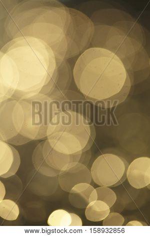 golden blur background