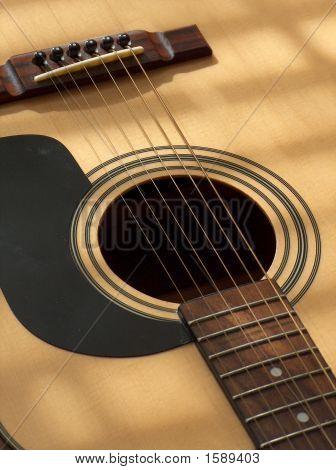 akustische Gitarre