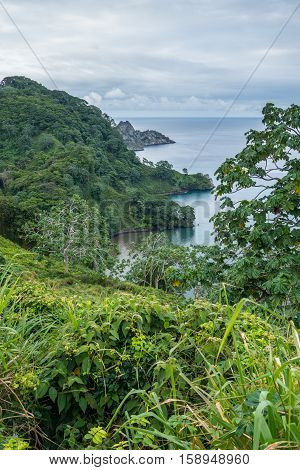 Catham Bay Cocos Island