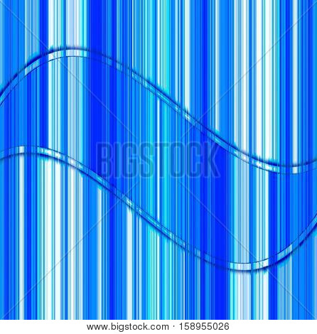 elegant abstract design with blue stripes and shades of whitecurves of the red abstract  lines