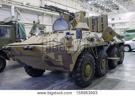 Ukrainian armored personnel carrier production by upgrading Soviet-era equipment