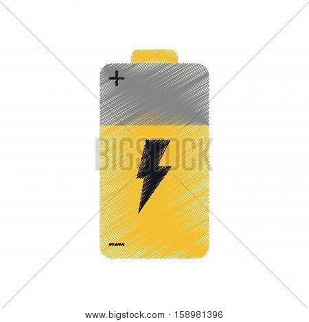 ed battery alkaline lighting vector illustration eps 10