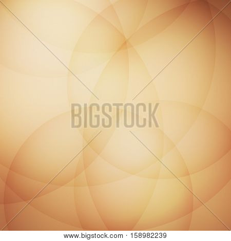 Curve element with brown background, stock vector