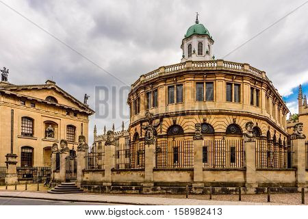 Sheldonian Theatre, Oxford University, England, United Kingdom